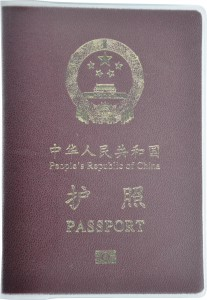China Passport Cover BRP Card Holder Delphine-D