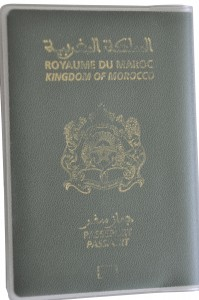 Morocco Passport Cover BRP Card Holder Delphine-D