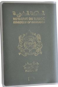 Morocco Passport Cover BRP Card Holder Delphine-D