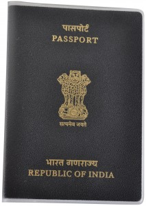 indian Passport Cover BRP Card Holder Delphine-D