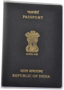 indian Passport Cover BRP Card Holder Delphine-D