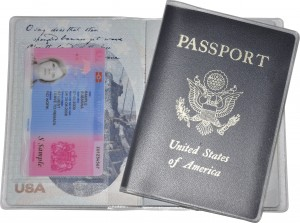 USA passport cover Lost BRP Card - Delphine-D